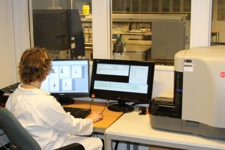 Flow cytometry at the core facility