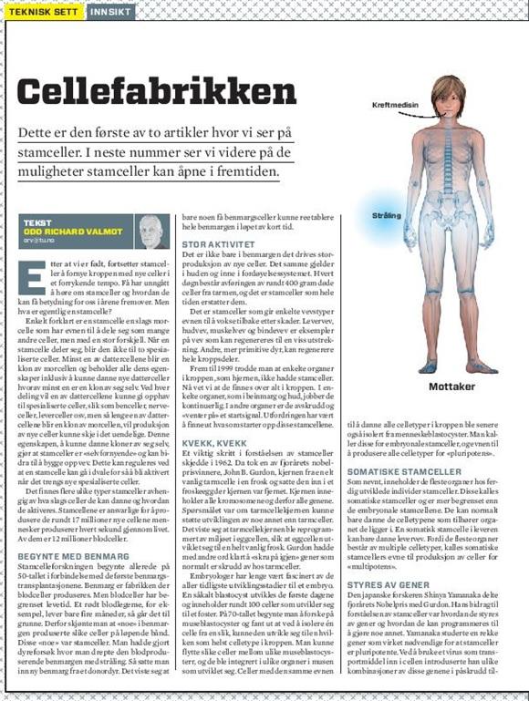 Teknisk ukeblad: Cellefabrikken