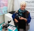 Secretary-general in the Norwegian Cancer Society Anne-Grete Ryel