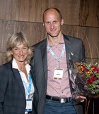 Kjetil Boye and Tone Ikdahl from Onk. forum