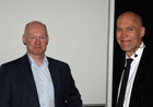Inst. head H. Stenmark and Christer Betsholtz
