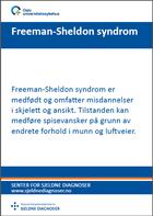 Forsiden på Freeman-Sheldon-brosjyre