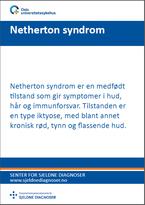 Forside diagnosefolder Netherton syndom