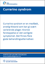 Forside diagnosefolder currarino syndrom