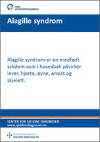 Diagnosefolder Alagille syndrom