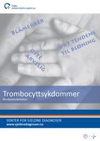 Forside diagnosefolder trombocyttsykdommer