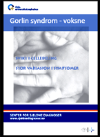 Forside diagnosefolder Gorlin syndrom