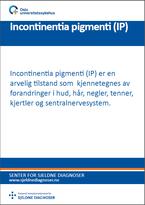Forside diagnosefolder incontinentia pigmenti