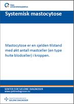 Forside diagnosefolder systemisk mastocytose