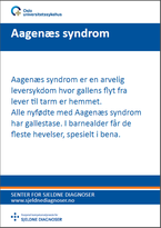 Forside diagnosefolder Aagenaes syndrom