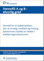 Forside - diagnosefolder hemofili A og B, alvorlig grad