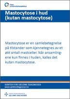 Forside diagnosefolder mastocytose i hud