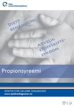 Forside diagnosefolder propionsyreemi