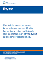 Forside diagnosefolder iktyose