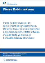 Forside diagnosefolder Pierre Robin sekvens