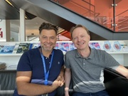 The Norwegian team.  From left: Dr. Alfonso Urbanucci and Dr. Nikolai Engedal