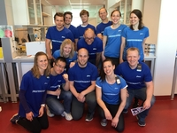 The Molecular Oncology relay team