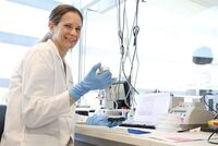 Anita Sveen is heavily involved in the study (photo Terje Heiestad)