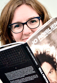 Kathrine Frey Frøslie er statistiker og stipendiat ved OUS. Foto: Ram Gupta