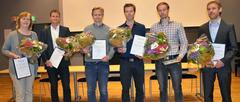 Award winners of excellent article prize
