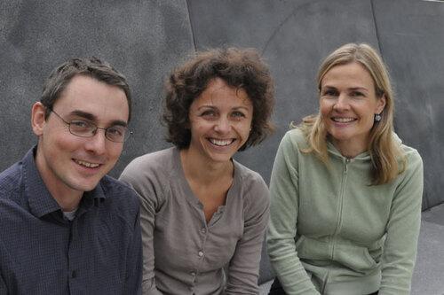 Sébastien Wälchli (3rd author), Ingerid W Abrahamsen (first author) and Johanna Olweus (last author)